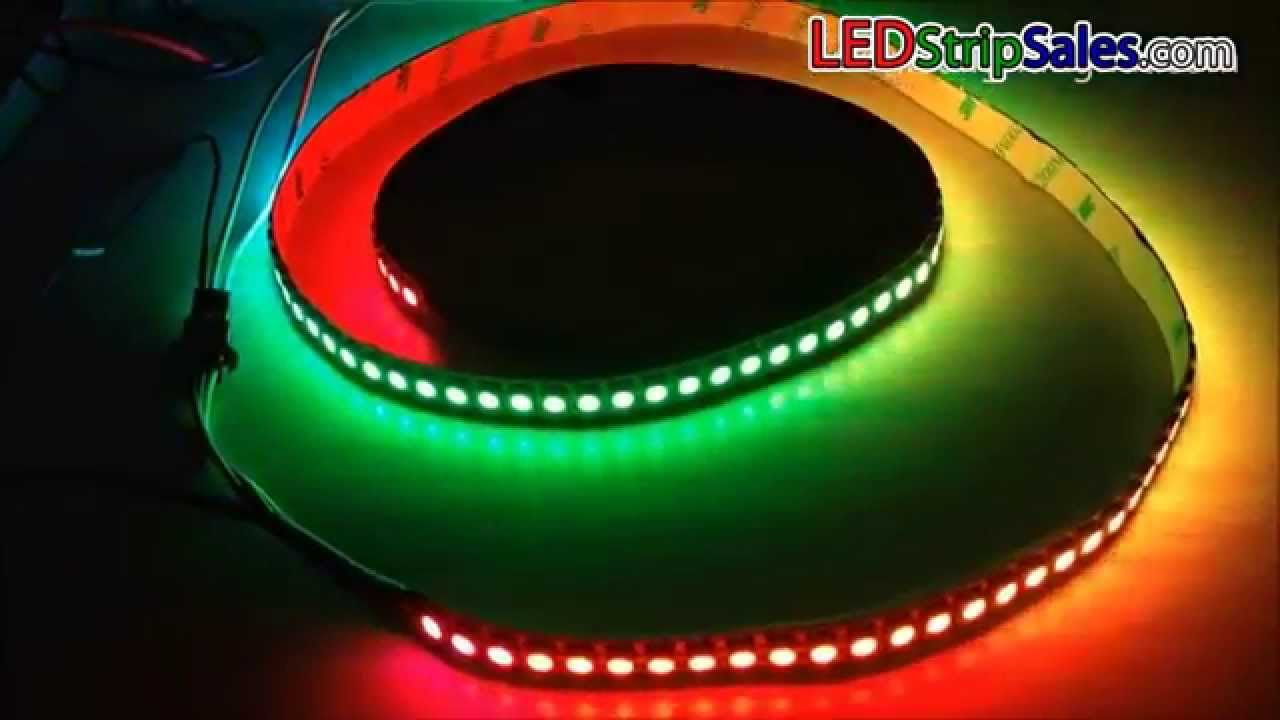 5v ws2811 ic rgb dream color series programmable led flexible strip 5v ws2811 ic rgb dream color series programmable led flexible strip lights 288 leds 2m perreel aloadofball Gallery