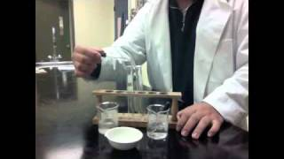 Ammonium Nitrate + Sodium Hydroxide - STS: Students Teaching Students