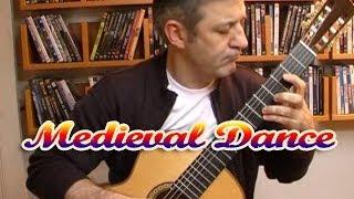 Medieval Dance - Classical Guitar by Frédéric Mesnier