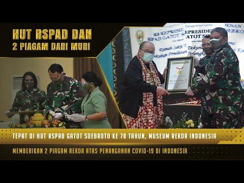 HUT ke-70 RSPAD Serta Penyerahan 2 Rekor MURI dalam Masa Penanganan Pasien Covid-19 | 60