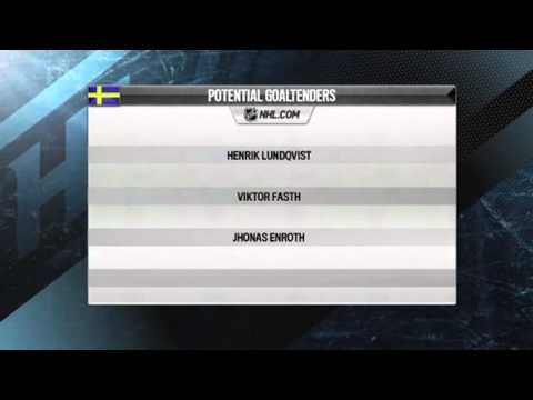 Team Sweden : Roster Preview : 2014 Hockey Olympics