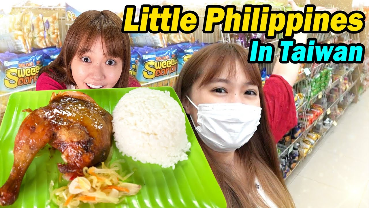 Japanese goes to Little Philippines in Taiwan