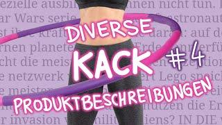 Diverse Kack Produktbeschreibungen #4