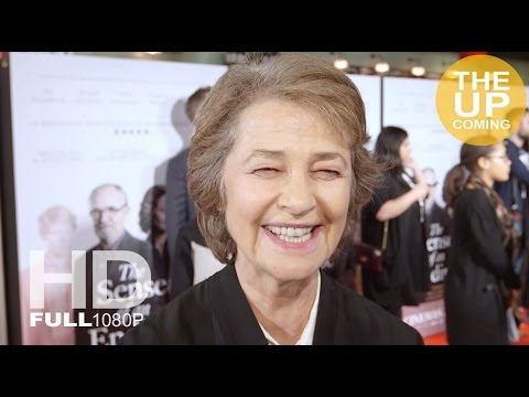 The Sense of an Ending premiere - Charlotte Rampling interview