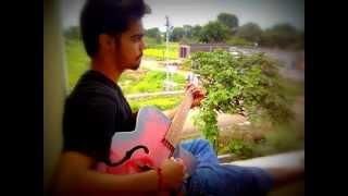 Tere Mere Darmiyaan(Pinky Moge Wali) -Unplugged Version- AKASH SRIVASTAVA.wmv
