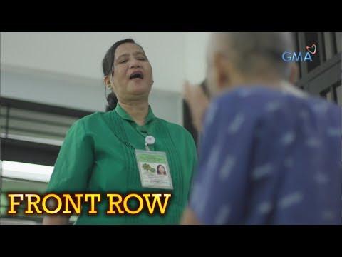 Front Row: Hirap Ng Trabaho Ng Isang Nursing Attendant, Alamin