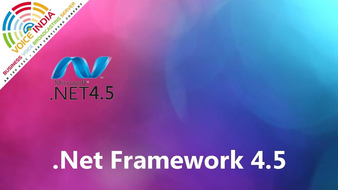 4.5.2 FRAMEWORK TÉLÉCHARGER NET