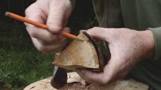 Eine Einführung in die Grünen Holzarbeiten - Teil 2: Mit der Axt