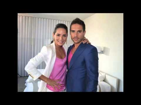 Carmen Villalobos y Sebastian Caicedo-la pareja perfecta