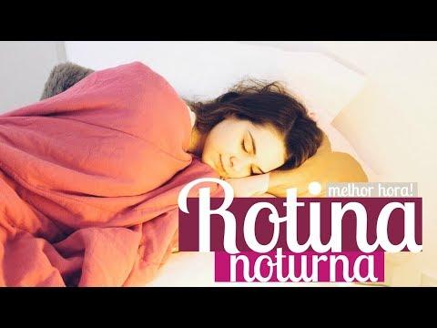 MINHA ROTINA DA NOITE   My night routine   Mylena Matos