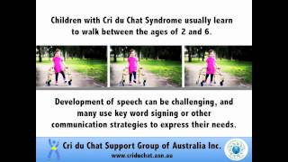 international cri du chat awareness week 2012 aussie support group