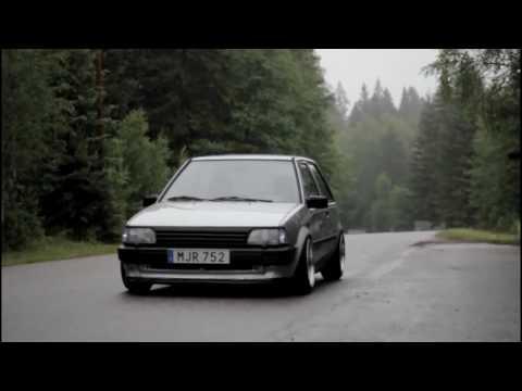 Toyota starlet 4k - YouTube