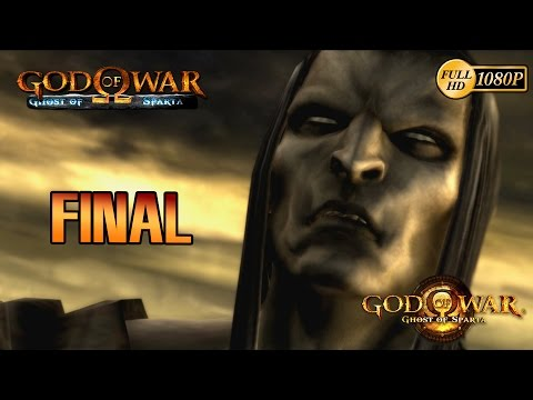 God of War Ghost of Sparta HD Final Español Gameplay Deimos & Kratos vs Tanatos 1080p