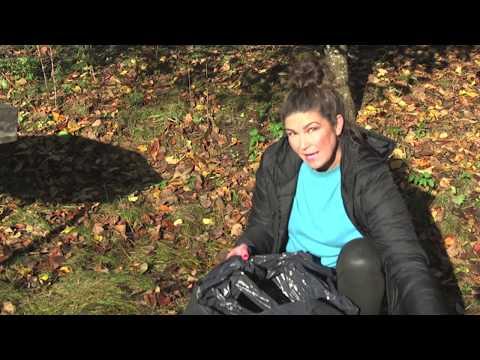 Hemma hos Jessica v 44, del 4 Love löv Änglatrumpet och sticklingar , dahliaknölar & vinterförvaring