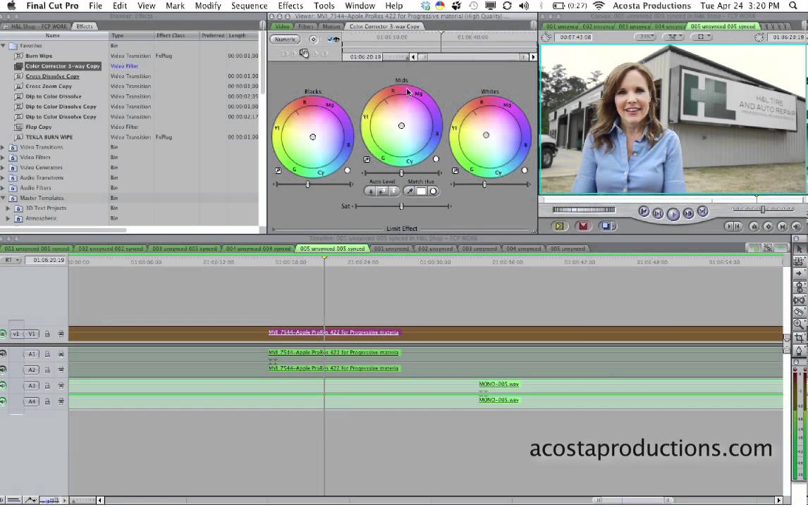 How To Color Correct In Final Cut Pro 7 Quick Tip Tutorial Tuesday Youtube