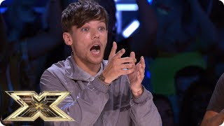 X FACTOR CONTESTANT FALLS OFF STAGE! | The X Factor UK