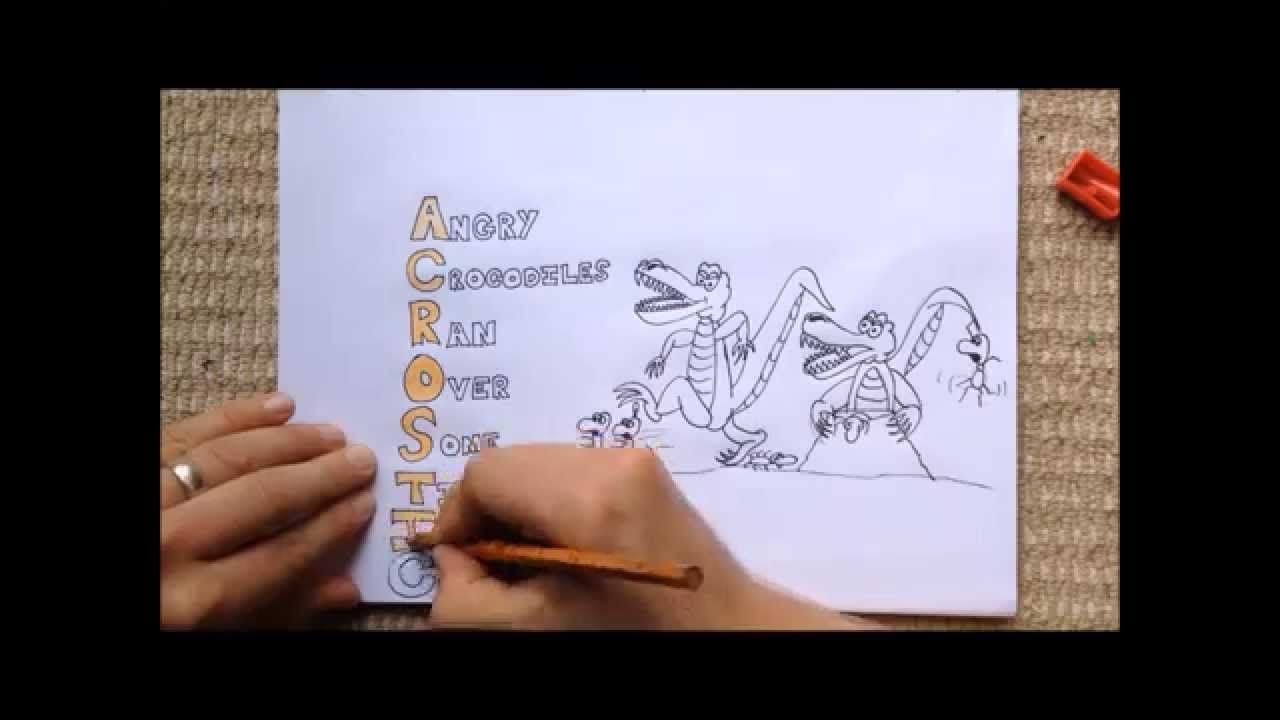 medium resolution of The Acrostic Poem - YouTube