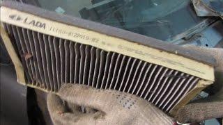 видео Замена воздушного фильтра Лада Калина своими руками