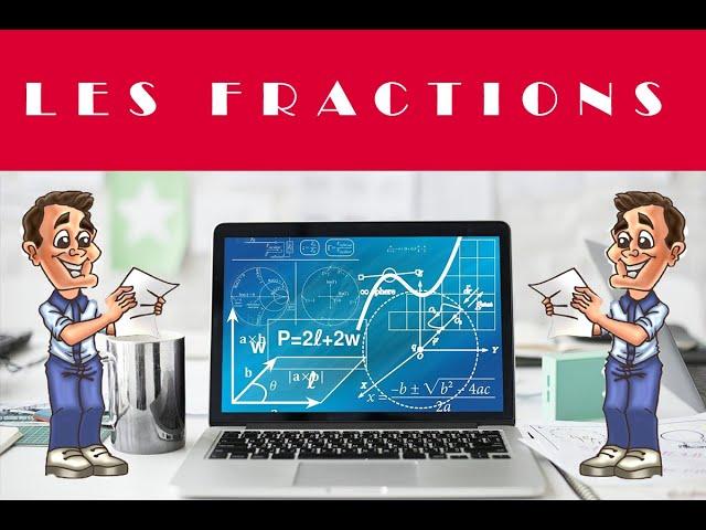 Fractions et étude d'un damier - Maths en 6eme - 5ème