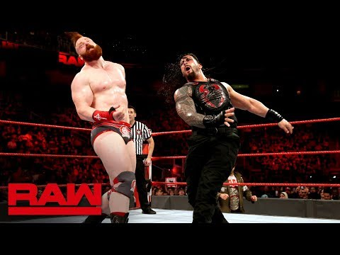 Roman Reigns vs. Sheamus: Raw, Feb. 12, 2018