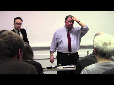 Banking on Crime - A talk with a former Scotland Yard Fraud Squad Officer part 4