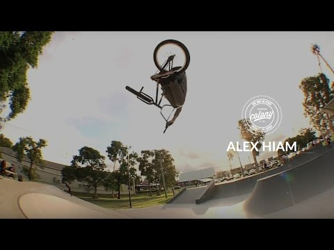 Alex Hiam spent 5 days working with Troy Charlesworth in Brisbane to produce this heavy hitting video promoting his signature line of parts and complete bike.