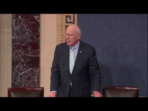 Senator Leahy Speaks On Senate Republicans Silencing Elizabeth Warren