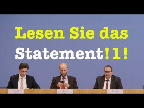 7. Februar 2018 - Komplette Bundespressekonferenz (RegPK)