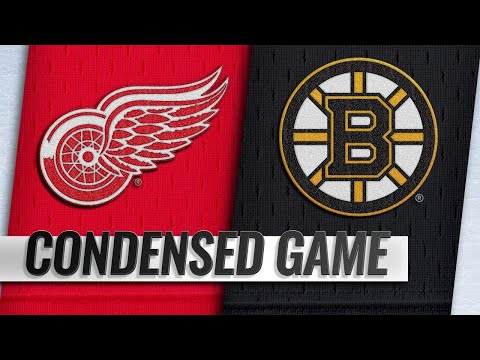 12/01/18 Condensed Game: Red Wings @ Bruins
