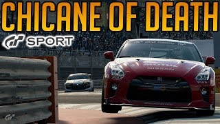 Gran Turismo Sport: Racing the Chicane of Death