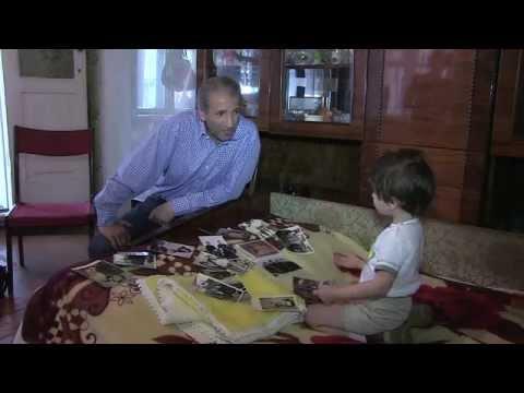 Семья Балаян - беженцы из Красного Луча (Луганская область).