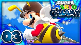 Super Mario Galaxy Part 3 Honeyhive Galaxy 1080p 60fps