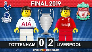 Champions League Final 2019 • Tottenham vs Liverpool 0-2 🏆 All Goals Highlights LEGO Football Film