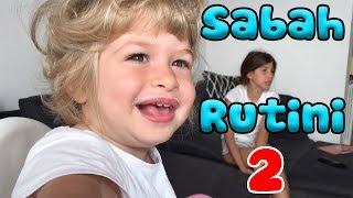Sabah Rutini - 2. Bölüm |  Bizim Aile Eğlenceli Çocuk Videoları