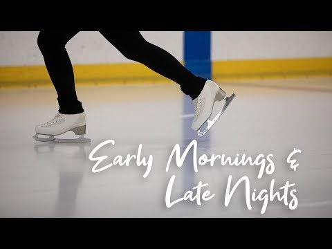 Early Mornings & Late Nights: UNL figure skating club perfects skills on the ice