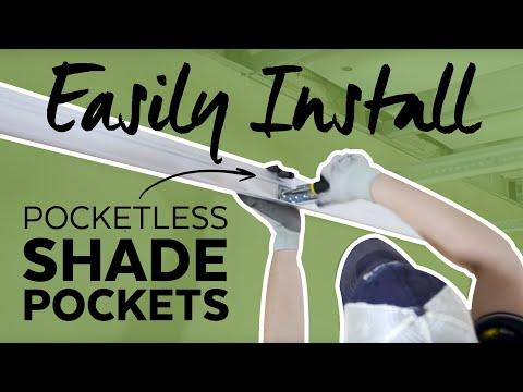 "Axiom Building Perimeter System - ""Pocketless"" - Shade Pockets"