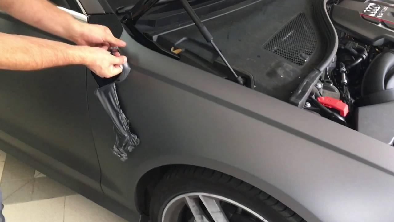 neutralisierung car wrapping folie youtube