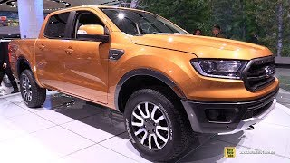 2019 Ford Ranger Lariat - Exterior and Interior Walkaround - 2018 Detroit Auto Show