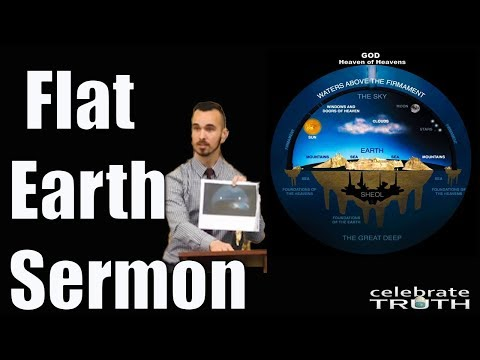 Pastor Preaching Flat Earth Truth from the Bible