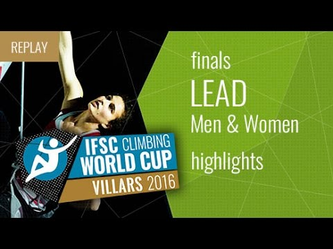 IFSC Climbing World Cup Villars Highlights Lead Finals