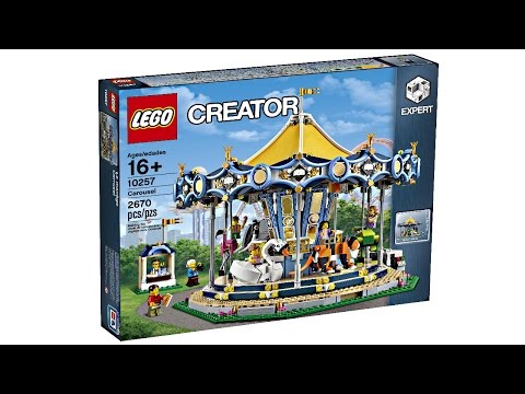 LEGO Carousel 2017 set - My Thoughts!