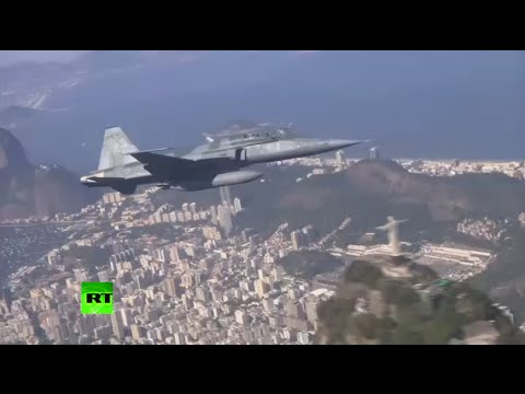 Brazil Air Force to control Rio Olympics skies