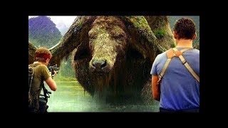 GIANT BUFFALO Scene   Kong  Skull Island 2017 Movie Clip Full HD