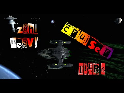 Zahl Heavy Cruiser [T6] with all ship visuals - Star Trek Online