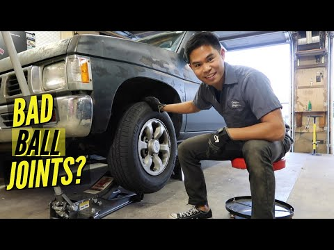 how to replace d22 transmission shaft play