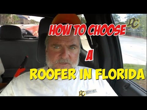 How to choose a Roofer Contractor in Florida