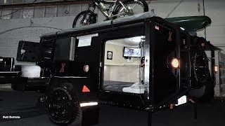 Mini Trailer Off Road,  Marca Expedition, Expo Motorhome Show, 2017.