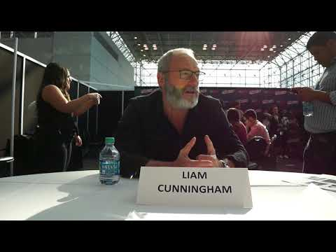Liam Cunningham for Philip K Dick's Electric Dreams at NYCC 2017