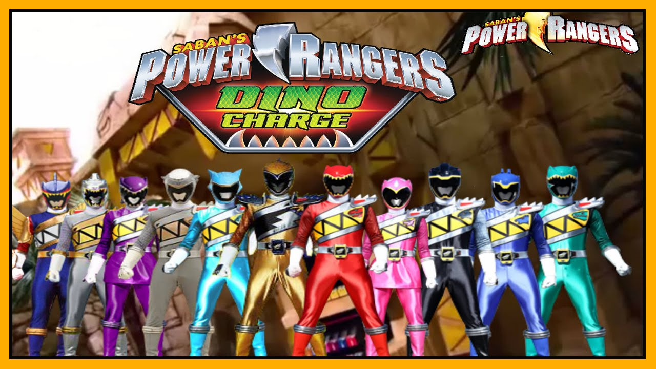 Power Rangers Dino Charge Power Rangers Super Megaforce Legacy Game Compilation