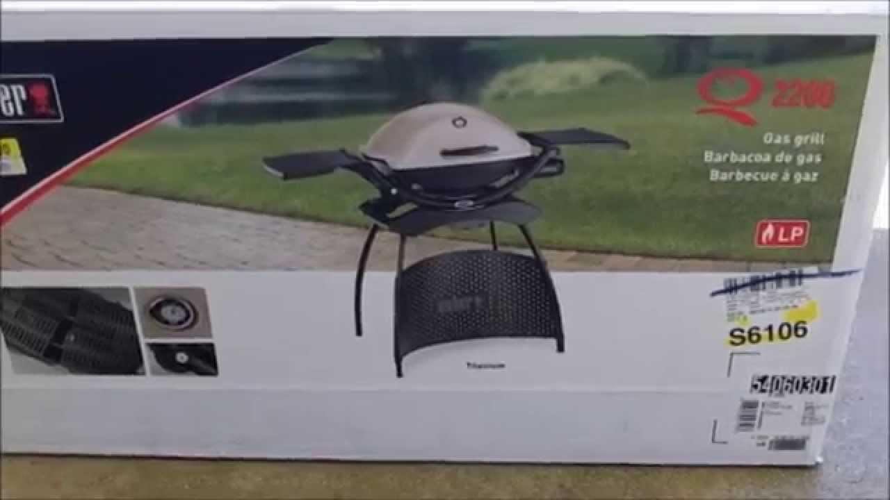 weber q 2200 grill youtube. Black Bedroom Furniture Sets. Home Design Ideas